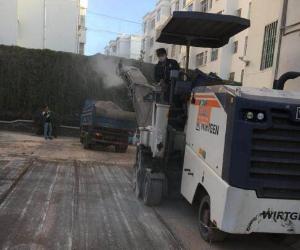 九条路助力泸西县政府道路改造